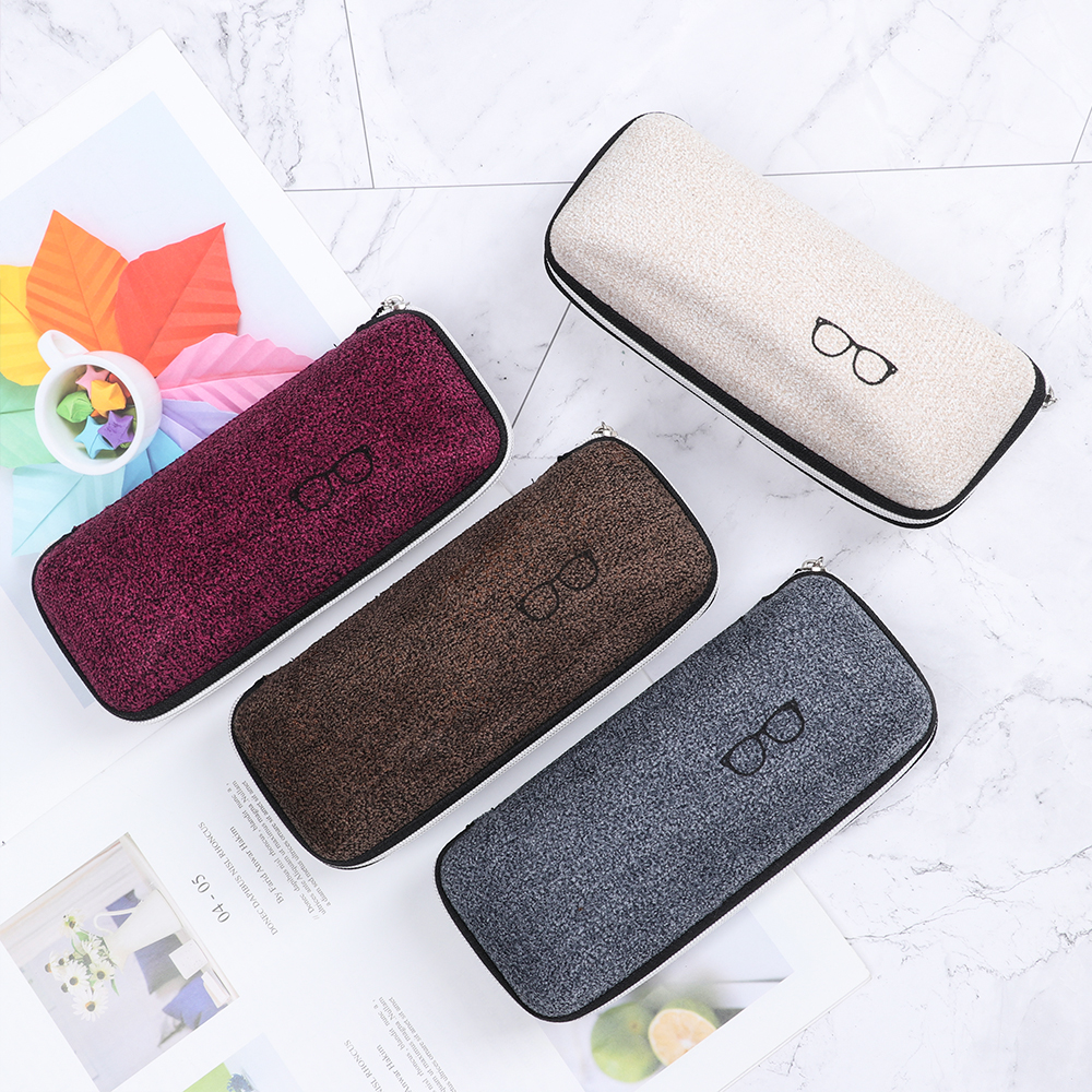 2020 New EVA Eyewear Cases Cover Sunglasses Case For Women Fashion Glasses Box With Lanyard Zipper Eyeglass Cases For Men Women