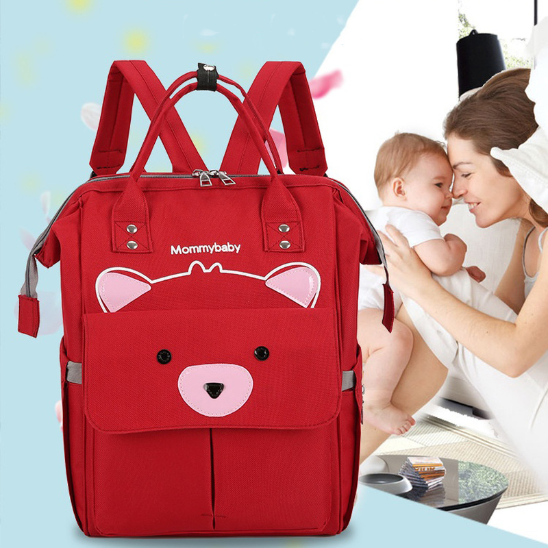 Large Capacity Diaper Bag Backpack Baby Nappy Changing Mummy Maternity Bags Hot Mum Bag Stroller Baby Care Waterproof Backpack