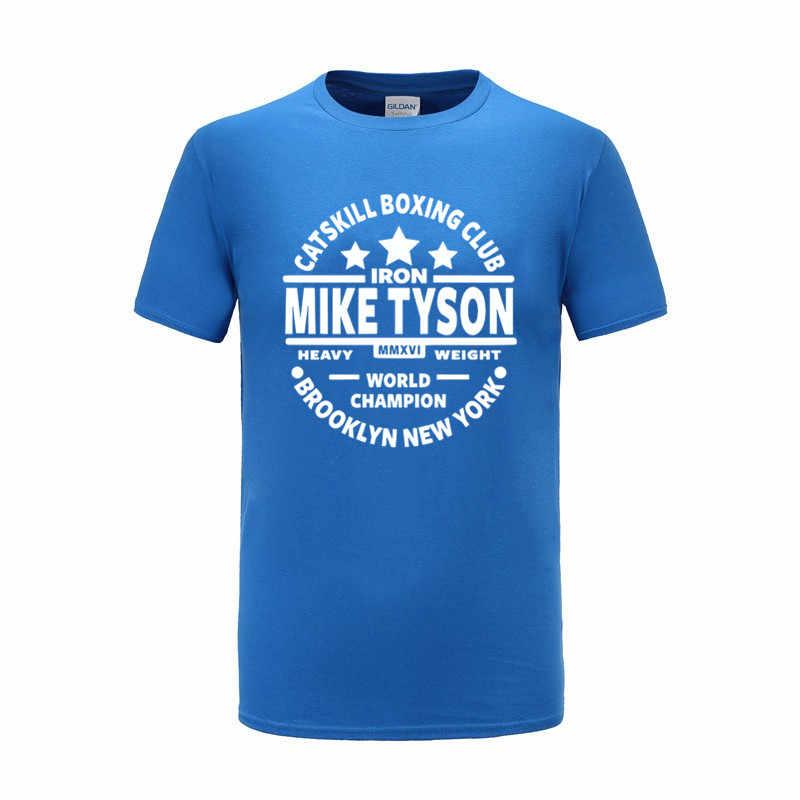 XS-2XL de alta calidad para hombre, camiseta con diseño de BOXINGS, Camiseta con estampado de 100% de algodón para hombre