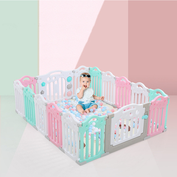 Indoor Baby Playpens Outdoor Games Fencing Children Play Fence Kids Activity Gear Environmental Protection EP Safety wholesale kids play fence indoor baby playpens outdoor children activity gear environmental protection ep safety play yard