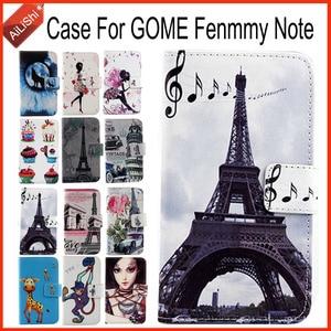 AiLiShi чехол для GOME Fenmmy Note роскошный Флип PU окрашенный GOME кожаный чехол эксклюзивный 100% специальный чехол для телефона кожа + отслеживание