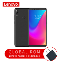 Lenovo Mobile Phone K5 Pro 6GB+64GB Smartphone Snapdragon 636 Octa Core Four Cameras 5.99 inch 4G LTE Cellphone 4050mAh Battery