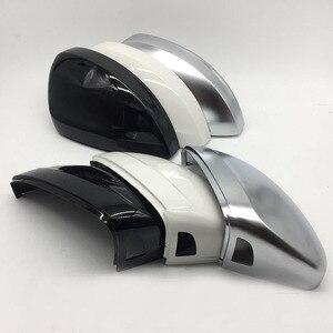 Для MQB для Tiguan MK2, зеркальная крышка, боковое зеркало заднего вида, крышка, корпус, поддержка полосы, для помощи в боковом движении, для помощи ...