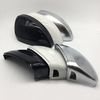 For MQB For Tiguan MK2 Mirror Cover Rear view Side Mirror Cap Housing Support Lane Change Side Assist Blind Spot assist