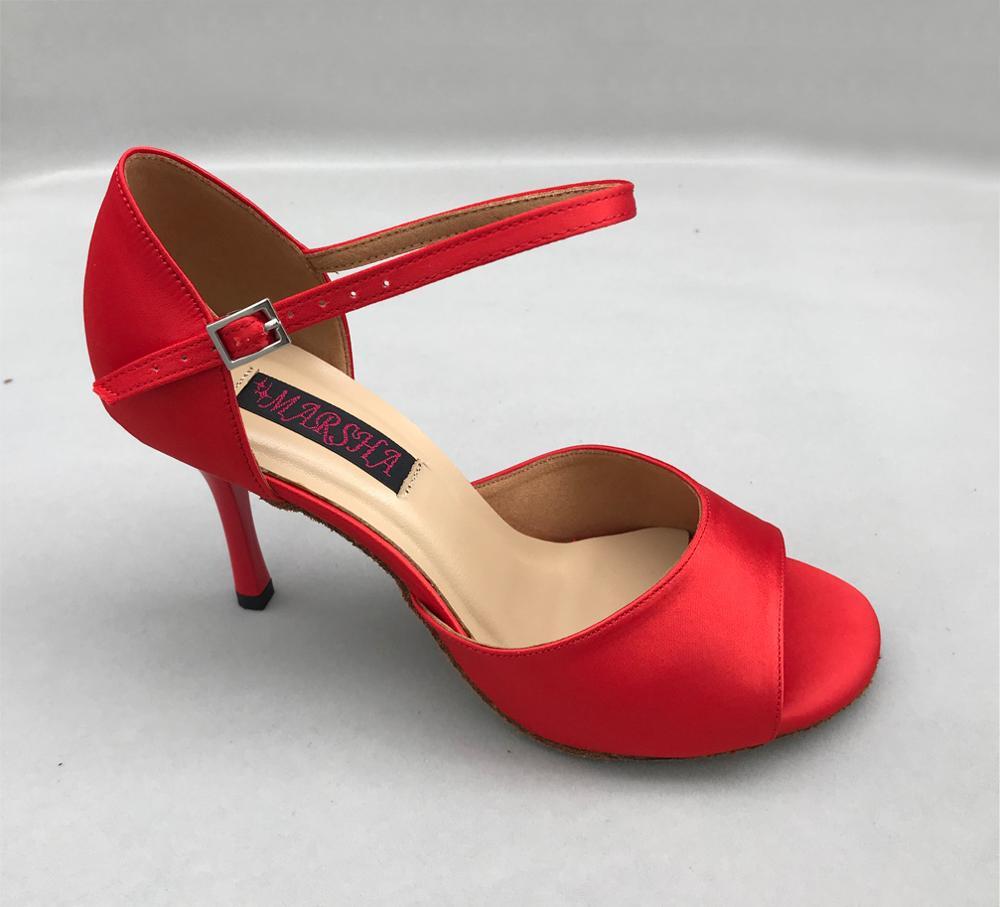Fashional  Latin Dance Shoes Salsa Shoes Tango Shoes  Bridal Shoes For Women 6205B-R