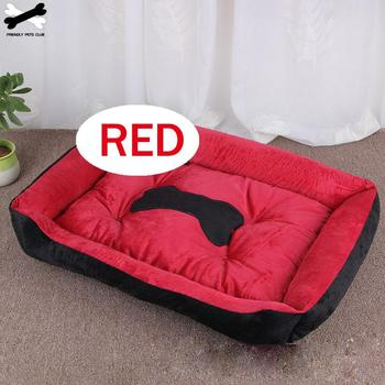 Bone Pet Bed Warm Pet Products For Small Medium Large Dog Soft Pet Bed For Dogs Washable House For Cat Puppy Cotton Kennel Mat 3