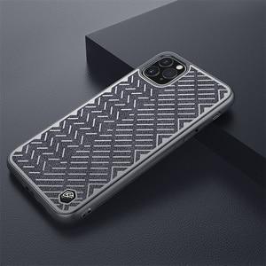Image 5 - Dla iPhone 11 Pro Max Case 5.8 6.1 6.5 NILLKIN w jodełkę lekka odblaskowa poliestrowa wodoodporna tylna pokrywa dla iPhone11
