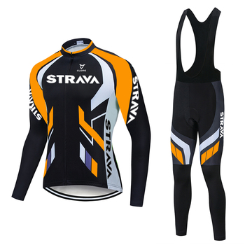 NEW STRAVA long sleeve Cycling jersey Set bib pants ropa ciclismo bicycle clothing MTB bike Short sleeve jersey Men's clothes NW new pro team strava cycling set bike jersey sets cycling suit bicycle clothing maillot ropa ciclismo mtb kit sportswear nw