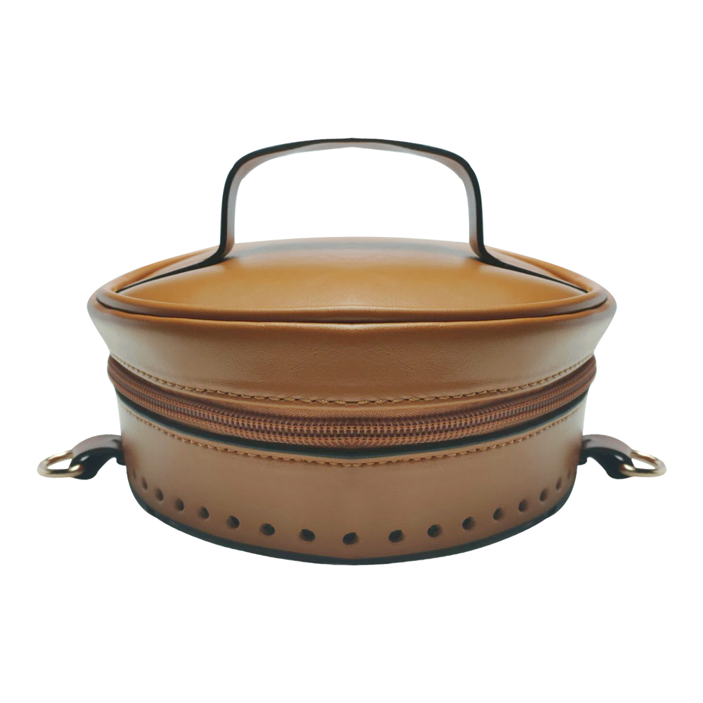 Diy Handbag Bucket Bag PU Leather With Bag Bottom Flap Cover Shoulder Strap Belt Three Parts Set Fashion Zipper Bags Backpack #D