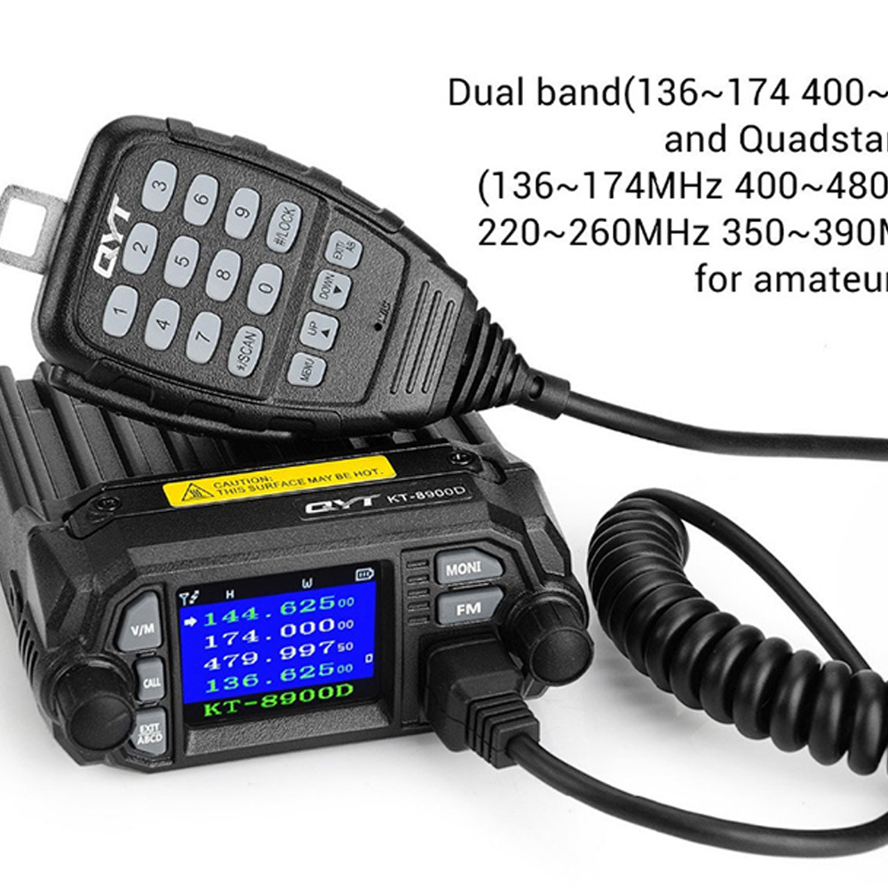 KT-8900D Dual Band VHF UHF Mini Mobile Radio Car Radio FM Transceiver 25W VHF UHF BJ218 Vericle Car Ham Radio Dual Band