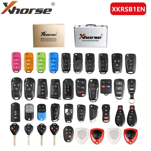 Xhorse XKRSB1EN العالمي عن بعد مفاتيح النسخة الإنجليزية حزم 39 قطع ل VVDI2 أو VVDI أداة مفتاح صغير