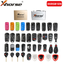 Xhorse XKRSB1EN אוניברסלי מרחוק מפתחות אנגלית גרסה חבילות 39 חתיכות עבור VVDI2 או VVDI מיני מפתח כלי
