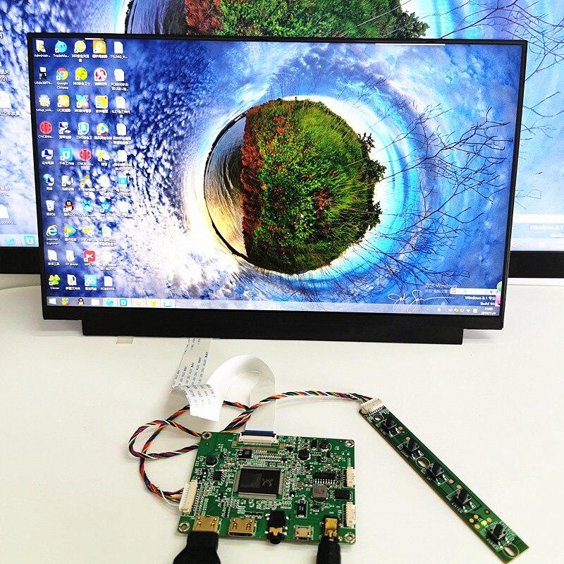 13,3 дюймовый дисплей емкостный сенсорный модуль комплект 1920x1080 IPS 2 мини HDMI ЖК-модуль для автомобиля Raspberry Pi 3 игра PS3 XBox PS4 монитор
