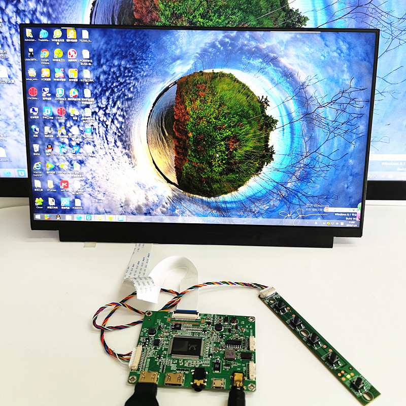 13.3 Inchdisplay Capacitive Touch Module Kit 1920x1080 IPS 2mini HDMI LCD Module Car Raspberry Pi 3 Game PS3 XBox PS4 Monitor