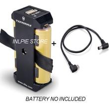 Tilta WLC T04 BP 18650 Dual 18650 Battery Pack con 8V DC maschio a 5V Micro USB cavo per Nucleo Nano motore BMPCC 4K/6K Gabbia