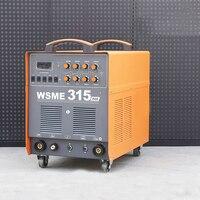 Inverter AC DC Square Wave Argon Arc Welding Machine WSME315 Manual Welding Machine Aluminum Welding Dual use Argon Gas Mixture