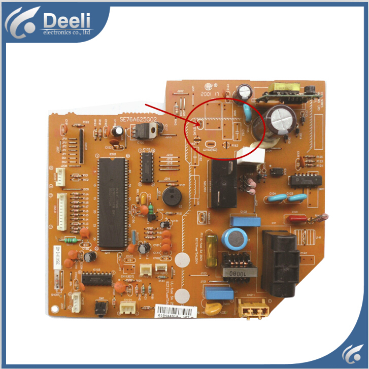 good working for air conditioning motherboard SE76A625G02 pc board  used board