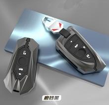 Samochód klucz ze stopu cynku pojemnik do przechowywania dla BMW X1 X3 X4 X5 X6 E90 E93 F15 F16 F48 G30 G02 G05 G11 G12 F11 F30 akcesoria do wnętrza samochodu