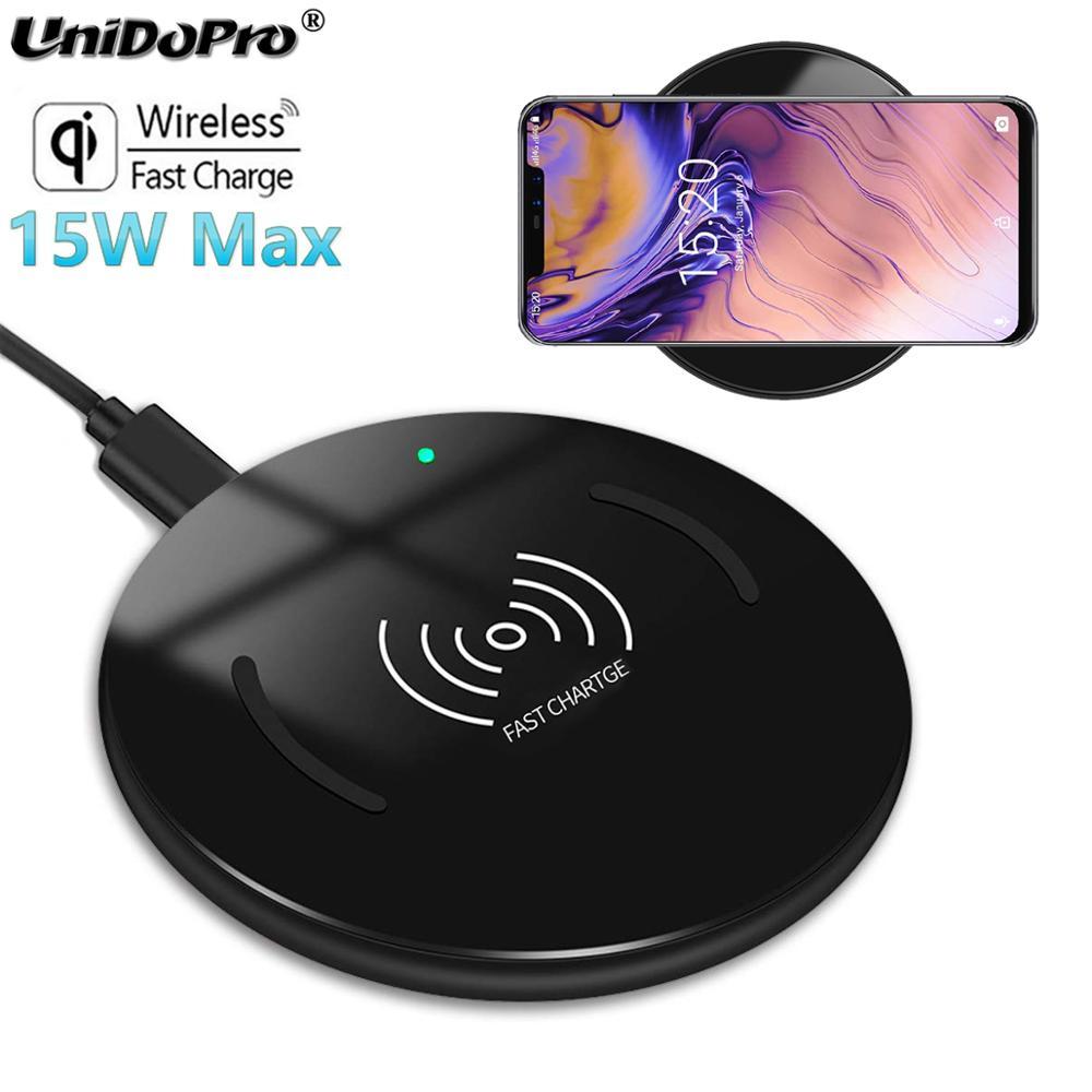 Chargeur sans fil rapide 15W Qi garanti pour chargeur sans fil UMiDIGI One Max, One Pro, Z2/Z2 Pro