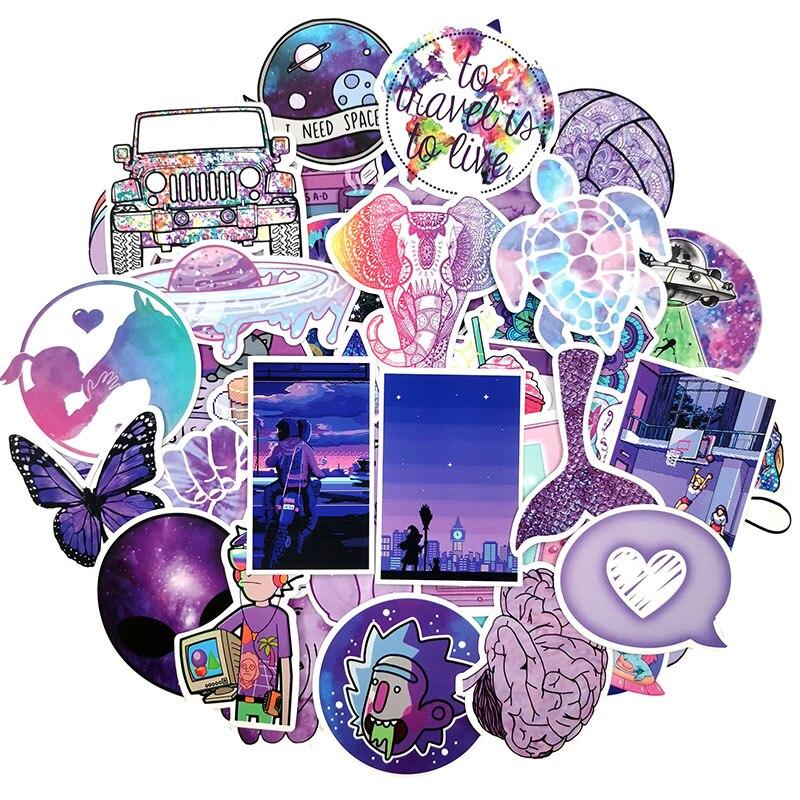 50 Skateboard Stickers bomb Vinyl Laptop Luggage Jurassic Park Sticker Lot cool