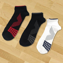 Hot Sale 3 pairs Mens short boat socks high quality mens polyester breathable casual cotton random color for men