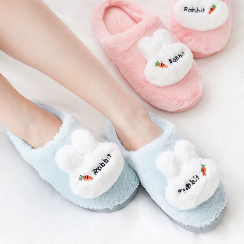 Women Slippers Bottom Soft Cotton Men Slippers Indoor Bedroom Slides Women Slip-On Shoes Home Shoes Comfortable Shoes For Couple
