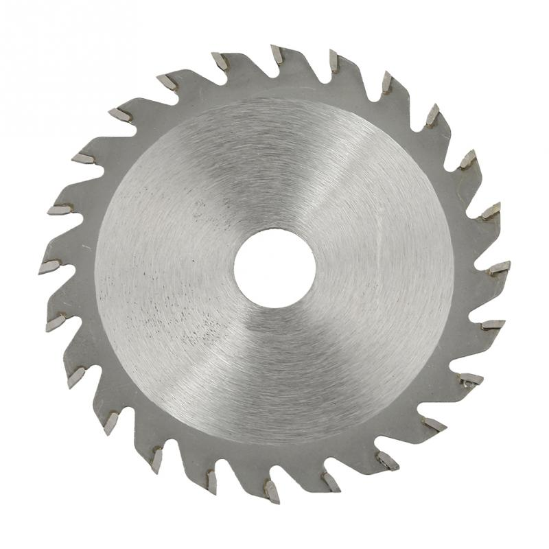 24 Teeth Cemented Carbide Circular Cut Saw Woodworking Cutting Disc Rotary Tools  Accessory Part 85mm X 15mm