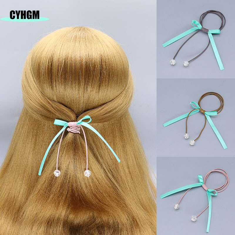 Wholesale Girls Elastic Hair Bands Hair Rubber Band Hair Velvet Scrunchies Diademas Hair Ties In Women's Hair Accessories F17-2