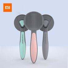 Xiaomi Pets épilation à la fourrure aiguille peigne pour chiens chats chiot peigne brosse de nettoyage toilettage outils ergonomique fournitures pour animaux de compagnie