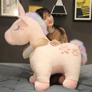 Gros jouets doux licorne 35-85 cm, animaux en peluche, acheter des jouets en peluche, cadeaux pour les filles