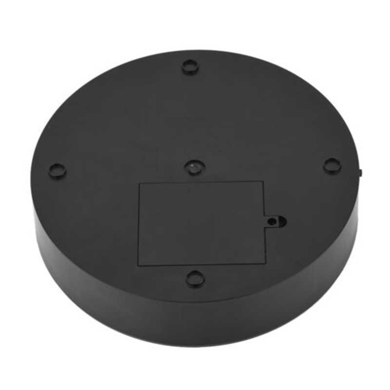 360 תואר רוטרי חשמלי תצוגת Stand מתכוונן מסתובב מהירות פטיפון קוסמטי תכשיטי שעון מראה משטח להראות מחזיק