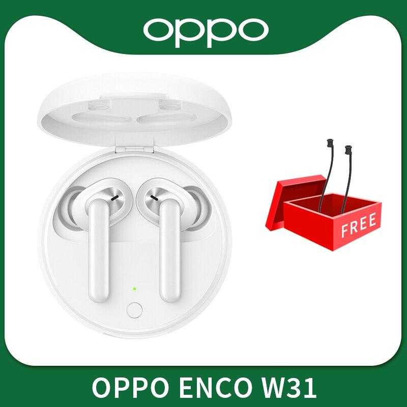 OPPO Enco W31 TWS auriculares Bluetooth 5,0 de baja latencia, auténticos auriculares inalámbricos 25mAh IPX4 para Find X2 X2 Pro ACE 2 2019 nuevo portátil de EVA duro Estuche de transporte para JBL Charge3 cargo 3 inalámbrico Bluetooth altavoz cubierta/bolsa de almacenamiento (con cinturón)