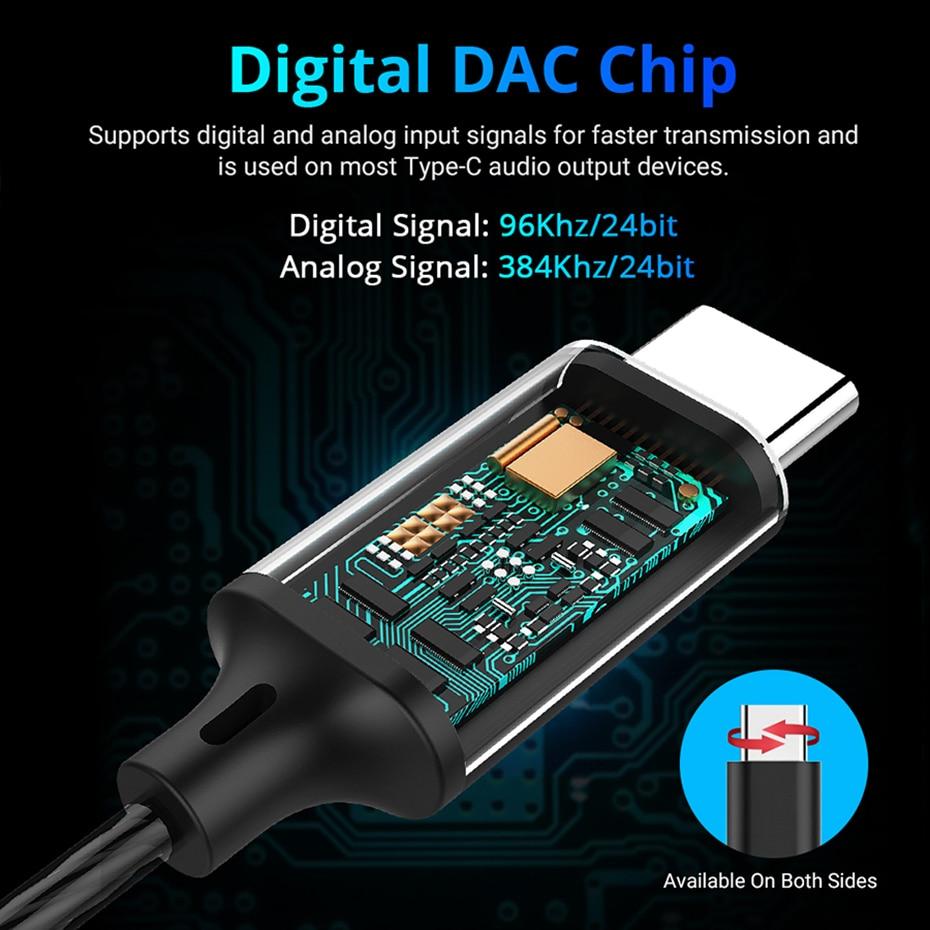 USB Type c earphone (2)