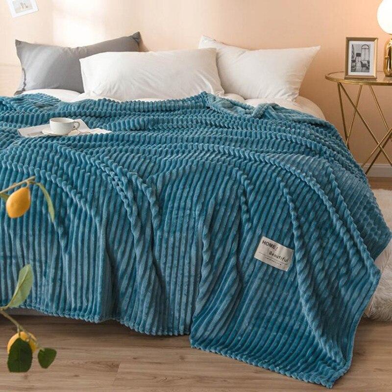 Günstige Hohe qualität Heißer verkauf 200x230cm marke plaid Decke super weiche fleece decken auf dem bett winter plaid bettdecken