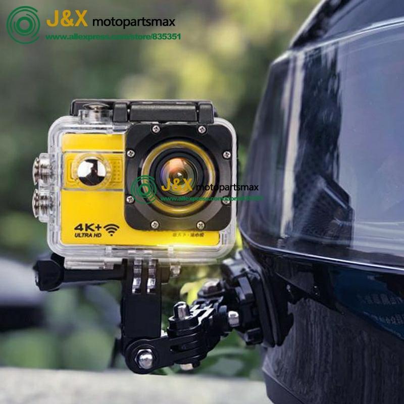 Мотоциклетная камера, записывающая подводную лодку 4 K, высокая четкость, водонепроницаемый и устойчивый к тряске мотоциклетный шлем, видео ...
