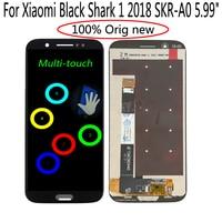 "1 5 lcd Shyueda Orig For Xiaomi Black Shark 1 2018 SKR-A0 SKR-HO 5.99"" LCD Display Touch Screen Digitizer (1)"