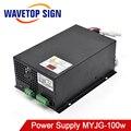 WaveTopSign MYJG 100w CO2 Laser Netzteil für CO2 Laser Gravur Schneiden Maschine|Holzbearbeitungsmaschinen-Teile|Werkzeug -