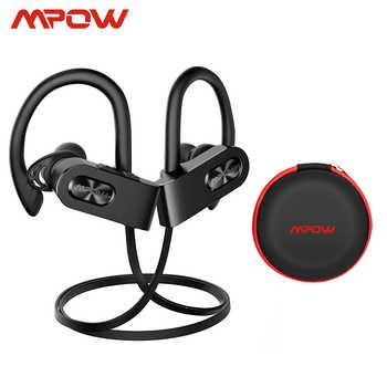 Mpow Flame 2 ipx7 impermeable 13H reproducción Bluetooth 5,0 auriculares deportivos CVC6.0 Cancelación de ruido para iPhone Samsung Huawei Xiaomi
