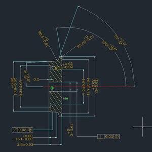 Image 5 - C8724 24 PCS 36 מתכת גלגלים עבור דגם רכבת 1: 87 HO Scale DC גלגל סט חדש
