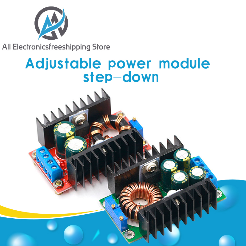 Понижающий преобразователь постоянного тока 9 а 300 Вт 150 Вт, понижающий преобразователь с 5-40 В до 1,2-35 в, модуль питания XL4016