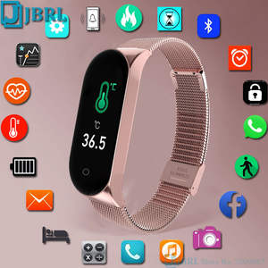 Digital Watch Clock Temperature Sport Electronic Men Women Ladies LED Female for New