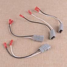 Dwcx 4 pces SP-7800 72-7800 adaptador plástico do chicote de fios do conector do orador do carro apto para honda acura