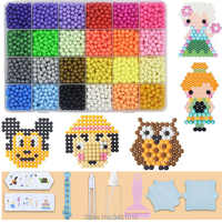 Fusible à eau perles bricolage ensemble outil magique perle collante perle Pegboard artisanat enfants jouets pour filles enfants cadeau adolescent 8 10 ans