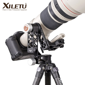 Image 4 - Шарнирная головка XILETU, Устойчивый Штатив для тяжелых условий эксплуатации, для объективов камер