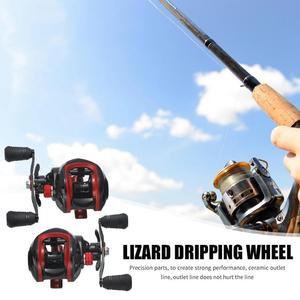 Image 2 - Lizard Fishing катушка рыболовная Baitcasting Reel 17+1BB 7.1:1  Left Right Hand Reel Fishing Tackle Reel