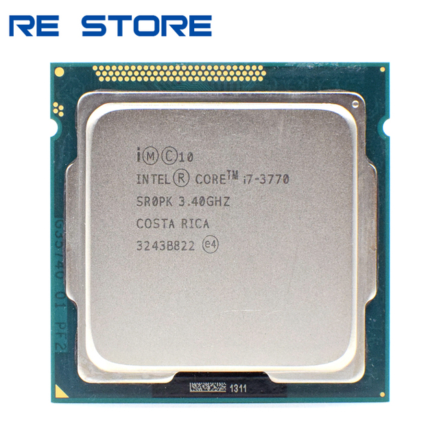 Processeur Intel Core i7 3770 3.4GHz, 8M 5,0 gt/s doccasion, LGA 1155 SR0PK