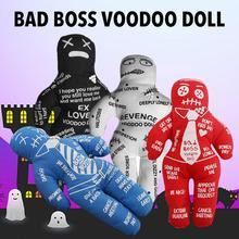 Кукла-редуктор Bad Boss Вуду для снятия стресса Лучшая новинка подарок для розового слона