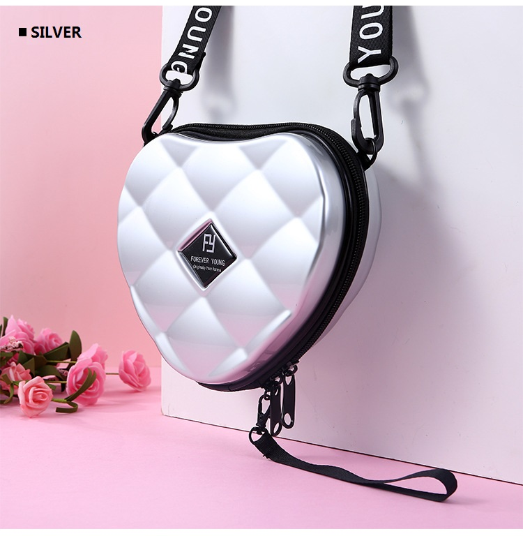Hc844231af58546e2a8f80fd23102e178Z - Fashion Luxury HandBags Heart Shaped PVC Mini Shoulder Bag for Woman Fashion Designer Personality Small Box Women Purses