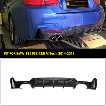 Rear Bumper Diffuser Lip For BMW F32 F33 F36 435i 440i M Sport 2014-2018 image
