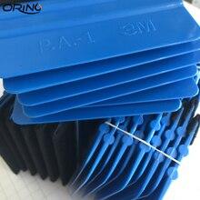 50 sztuk gumowa ściągaczka gumowa ściągaczka pojazdu okno Vinyl Film Car Wrap aplikator narzędzia skrobak